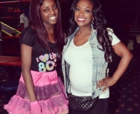 Kaela Tucker and Pregnant Kandi Burruss