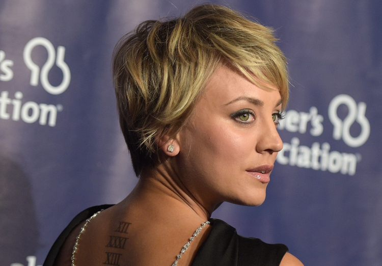 Kaley Cuoco Moves On From Her Ryan Sweeting Tattoo Photo