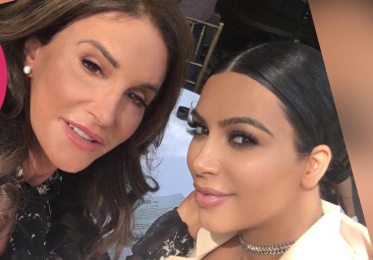 Kim and Caitlyn
