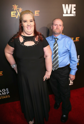 Mama June and Sugar Bear Attend the WE tv Premiere of Marriage Boot Camp Reality Stars and Ex-isled' on November 19, 2015.