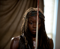 Michonne The Walking Dead Season 6 Midseason Finale