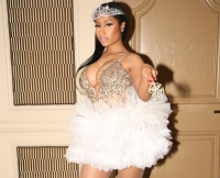 Nicki Minaj as a Fairy For Halloween