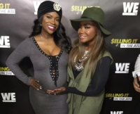 Pregnant Kandi Burruss and Phaedra Parks