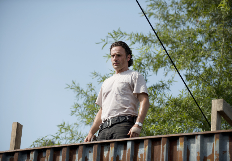 Rick The Walking Dead Season 6, Episode 7