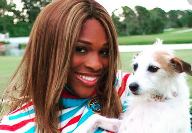 Serena Willams and Jackie Headshot