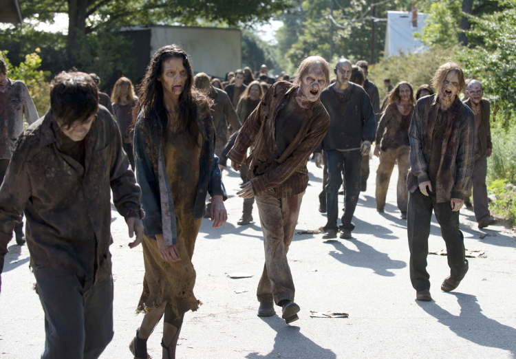 Walkers The Walking Dead Season 6
