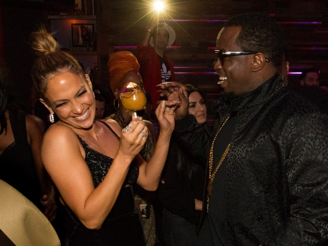 AMAs 2015, Jennifer Lopez, Diddy