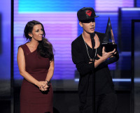 Celebrities estranged parents, Justin Bieber, Pattie Malette
