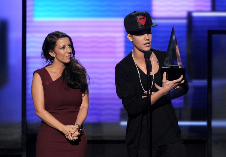 Celebrities estranged parents, Justin Bieber, Pattie Malette