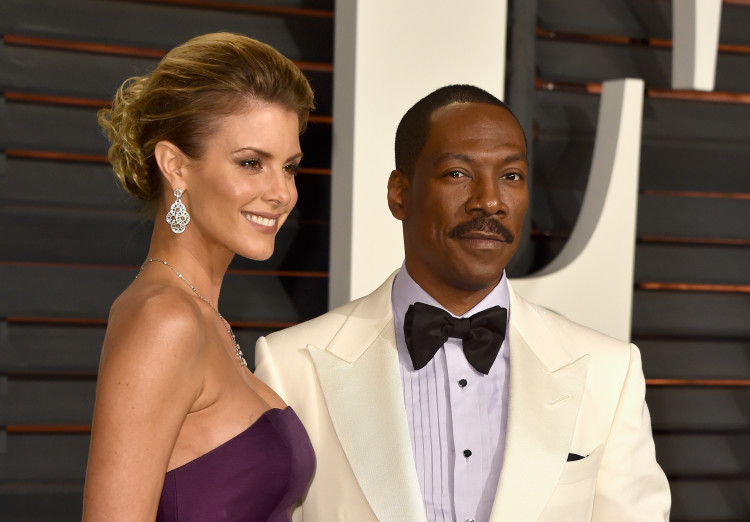 Celebrities with multiple baby mamas, Eddie Murphy, Paige Butcher