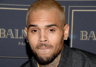 Chris Brown Didn't Stand For National Anthem & Got Into Argument During Charity Event (UPDATE)