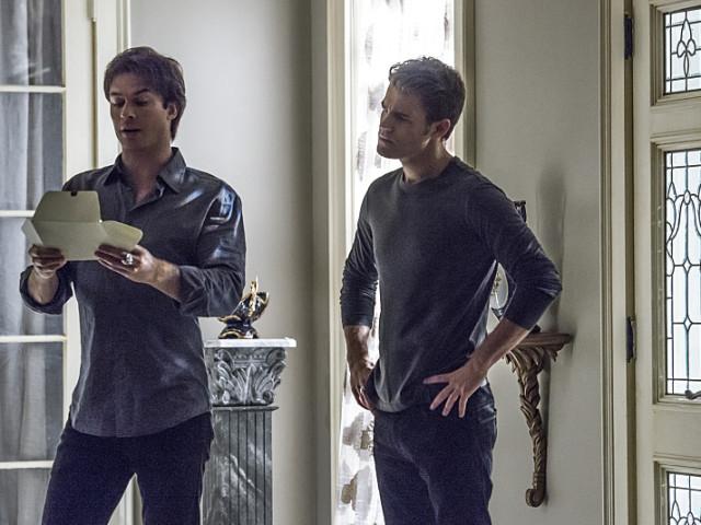 Damon and Stefan in TVD Season 7 Episode 6