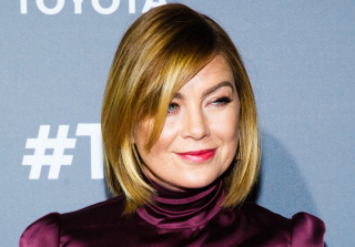 'Grey's Anatomy': Ellen Pompeo Rocks Debbie Allen Costume For Halloween