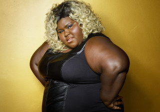 Lingerie-Clad Gabourey Sidibe Sizzles in 'V' Magazine (PHOTO)