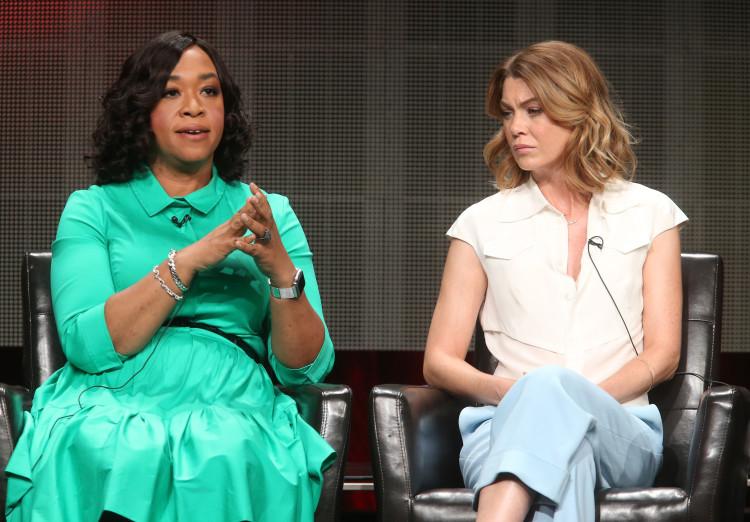 Grey's Anatomy, Shonda Rhimes, Ellen Pompeo