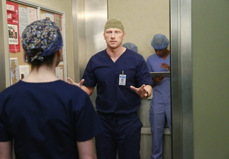 Grey's Anatomy Season 12, Kevin McKidd, Owen Hunt