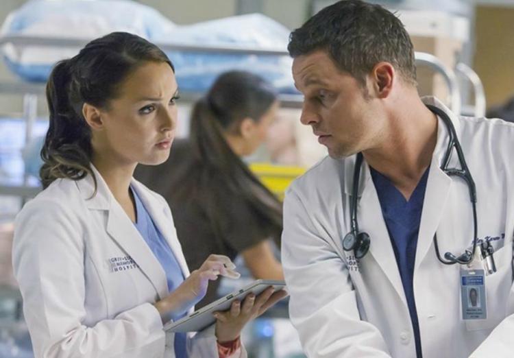 Grey's Anatomy, Jo, Alex, Camilla Luddington, Justin Chambers
