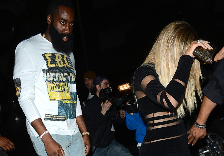Khloe Kardashian and James Harden Celebrates Kylie Jenner 18th Birthday at Nice Guy