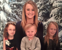 Leah Messer holiday photos