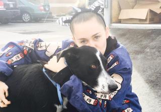 Miley Cyrus and Liam Hemsworth Reunite for Dog Adoption (PHOTOS)