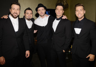 *NSYNC Reunited — And Justin Timberlake Actually Showed Up! (PHOTO)
