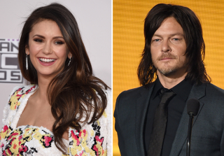 Nina Dobrev & Norman Reedus Hang Out at 2015 AMAs (PHOTO)