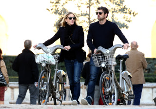 Patrick Dempsey and Estranged Wife Jillian Fink Hold Hands in Paris
