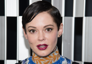 Rose McGowan Shaves Her Head — See Her Bald! (PHOTOS)