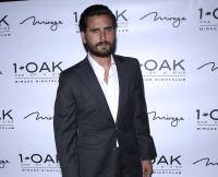 Scott Disick Hosts Evening At 1 OAK Nightclub Las Vegas