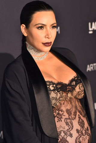Kim Kardashian West attends LACMA 2015 Art+Film Gala Honoring James Turrell and Alejandro G Iñárritu