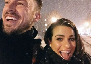 Lea Michele and Boyfriend Attend Her BFFs Wedding — Are They Next?