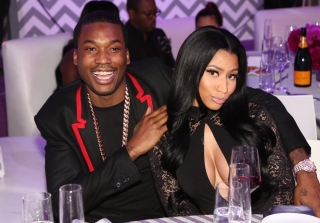 Nicki Minaj Says She's NOT Engaged to Meek Mill… Yet