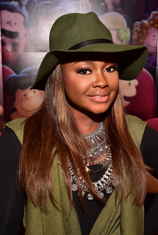 Phaedra Parks Attends 20th Century Fox's The Peanuts Movie VIP & Red Carpet Screening on November 3, 2015 in Atlanta