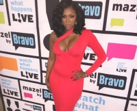 Porsha Williams on the Watch What Happens Live Red Carpet