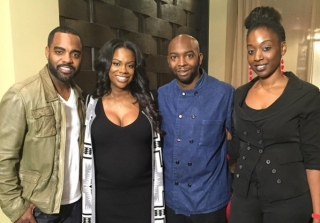 \'Real Housewives of Atlanta\'s Kandi Burruss Gives Birth to a Baby Boy! (PHOTO)
