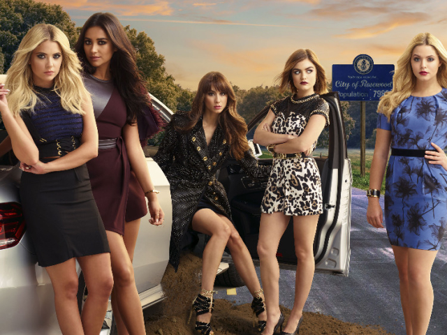 Pretty Little Liars Season 6B Poster