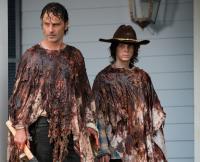 Rick Carl The Walking Dead Season 6 Midseason Finale