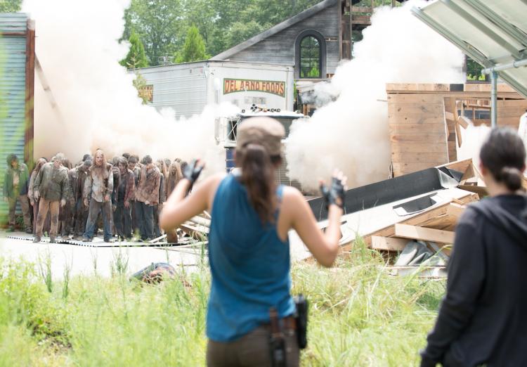 Rosita The Walking Dead Season 6 Midseason Finale