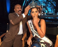 Steve Harvey and Miss Universe