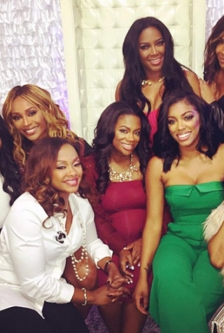 RHoA Cast Throw Pregnant Kandi Burruss a Shower