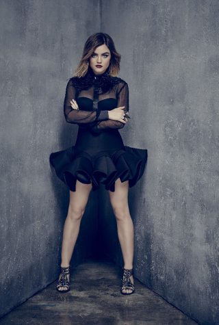 Lucy Hale/Aria on Pretty Little Liars