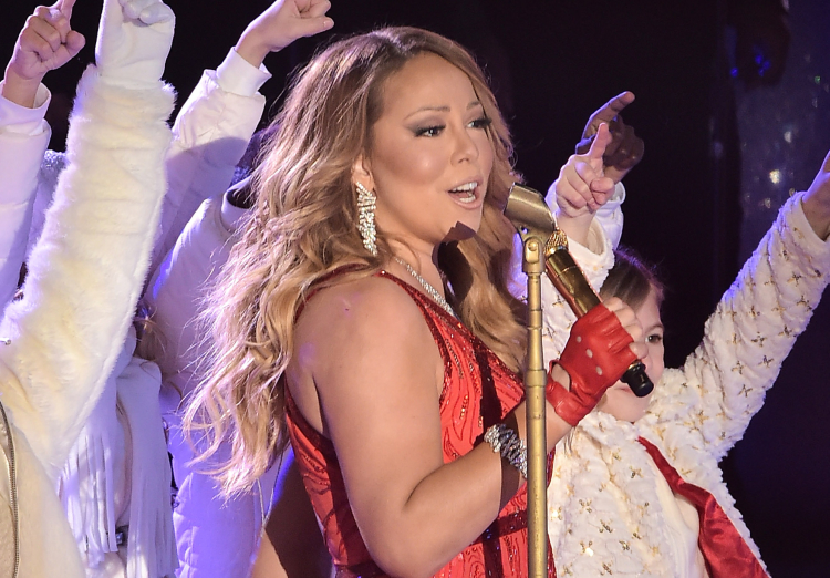 Christmas in Rockefeller Center performances, Mariah Carey
