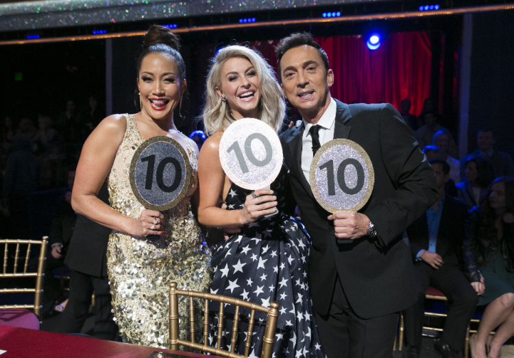 CARRIE ANN INABA, JULIANNE HOUGH, BRUNO TONIOLI