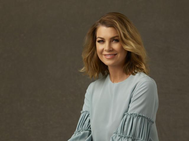 Ellen Pompeo hair, Meredith Grey, Grey's Anatomy Season 12