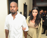 Kim Kardashian, Kanye West, baby name