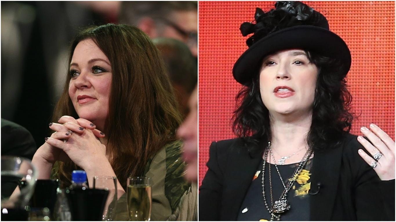 Melissa McCarthy vs. Amy Sherman-Palladino and Patrick Dempsey vs. Shonda Rhimes rank among our list of TV star-creator feuds.