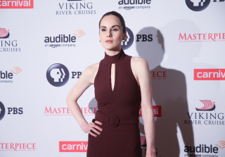 \'Downton Abbey\' Star Michelle Dockery Sang at Fiancé\'s Funeral