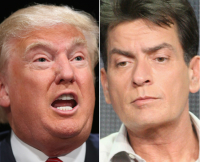 Most controversial people of 2015, Bill Cosby, Donald Trump, Charlie Sheen