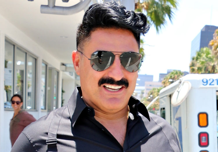 Reza Farahan from 'Shahs of Sunset' seen in Beverly Hills