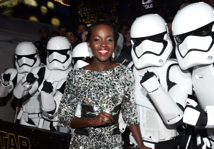 Star Wars: The Force Awakens, Lupita Nyong'o